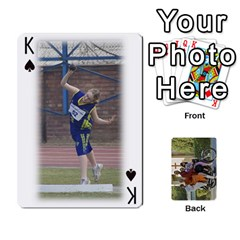 King Trimble B 2010 Playing Cards By Margy Trimble   Playing Cards 54 Designs   Gl8zdib1fiiy   Www Artscow Com Front - SpadeK