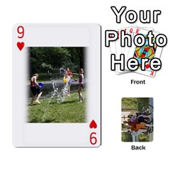 Trimble B 2010 Playing Cards By Margy Trimble   Playing Cards 54 Designs   Gl8zdib1fiiy   Www Artscow Com Front - Heart9