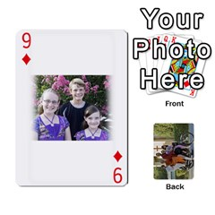 Trimble B 2010 Playing Cards By Margy Trimble   Playing Cards 54 Designs   Gl8zdib1fiiy   Www Artscow Com Front - Diamond9