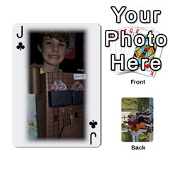 Jack Trimble B 2010 Playing Cards By Margy Trimble   Playing Cards 54 Designs   Gl8zdib1fiiy   Www Artscow Com Front - ClubJ