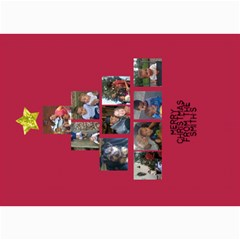 Xmas Card By Nicki   5  X 7  Photo Cards   2mk88le5a0ps   Www Artscow Com 7 x5 Photo Card - 3
