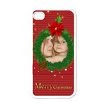 christmas - Apple iPhone 4 Case (White)