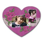 mousepad heart- I Love You - Heart Mousepad
