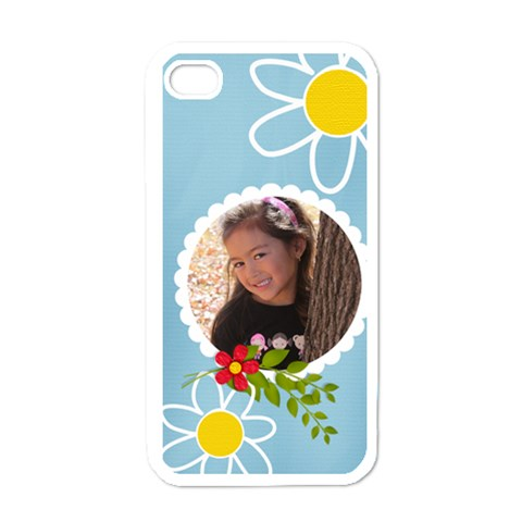Apple Iphone 4 Case (white)   Fun Summer By Jennyl   Apple Iphone 4 Case (white)   0b1eqkfq85hg   Www Artscow Com Front