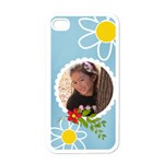 Apple iPhone 4 Case (White) - Fun Summer