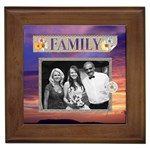 My Family Framed Tile