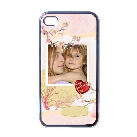 Mothers Day By Wood Johnson   Apple Iphone 4 Case (black)   L0anyo0jfr6f   Www Artscow Com Front