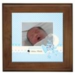 Framed Tile- Precious Baby Boy