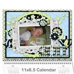 Calendar for 2011 - Wall Calendar 11  x 8.5  (12-Months)