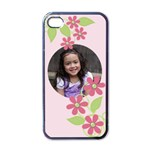 Apple iPhone 4 Case - Sweet Bianca - Apple iPhone 4 Case (Black)