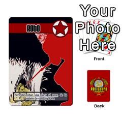 Politburo Edicion Capitalista (baraja Uno)  By Dar   Playing Cards 54 Designs   Fvrba90rhu3w   Www Artscow Com Front - Heart7