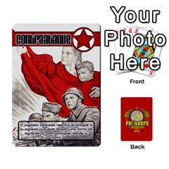 Politburo Edicion Capitalista (baraja Uno)  By Dar   Playing Cards 54 Designs   Fvrba90rhu3w   Www Artscow Com Front - Spade4