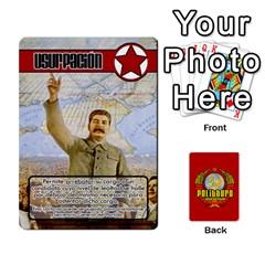 Politburo Edicion Capitalista (baraja Uno)  By Dar   Playing Cards 54 Designs   Fvrba90rhu3w   Www Artscow Com Front - Spade9