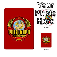 Politburo Edicion Capitalista (baraja Dos) By Dar   Playing Cards 54 Designs   Mgm0hf145xpd   Www Artscow Com Back