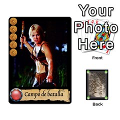 Ciudadelas De Xena   Mazo 1 By Lalagonca   Playing Cards 54 Designs   Ee27fl13xtid   Www Artscow Com Front - Diamond9