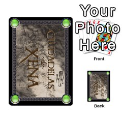 Ciudadelas De Xena   Mazo 1 By Lalagonca   Playing Cards 54 Designs   Ee27fl13xtid   Www Artscow Com Back