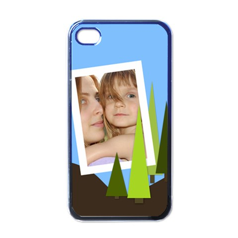 Kids By Wood Johnson   Apple Iphone 4 Case (black)   Wuwsx8zxeq1i   Www Artscow Com Front