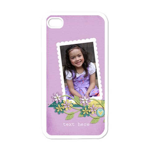 Apple Iphone 4 Case  Beautiful Smile By Jennyl   Apple Iphone 4 Case (white)   Auvh0tsl76as   Www Artscow Com Front