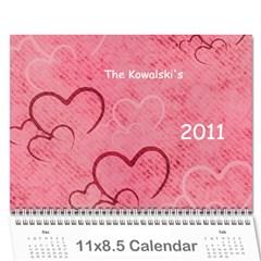2011 Calendar By Kris   Wall Calendar 11  X 8 5  (12 Months)   Vev02fd6ar8m   Www Artscow Com Cover