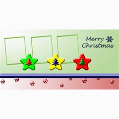 Merry Christmas 8x4 Photo Card By Daniela   4  X 8  Photo Cards   Wtgv8cvys9s8   Www Artscow Com 8 x4 Photo Card - 4