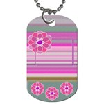 My Flower - dog tag - Dog Tag (One Side)