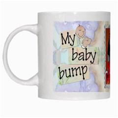 My Baby Bump Mug By Lil    White Mug   3glg74dnk0u9   Www Artscow Com Left