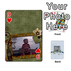 Branndons 4 Playing Cards By Sherry   Playing Cards 54 Designs   Rtwcp5xkqayg   Www Artscow Com Front - Heart9