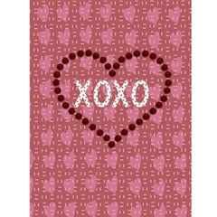 I Heart You Valentines Day Card2 By Danielle Christiansen   Greeting Card 4 5  X 6    4vt6vtiy8mlp   Www Artscow Com Back Cover