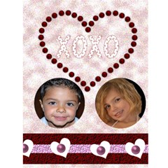 I Heart You Valentines Day Card2 By Danielle Christiansen   Greeting Card 4 5  X 6    4vt6vtiy8mlp   Www Artscow Com Front Inside