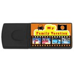 vacation usb for travel photos. - USB Flash Drive Rectangular (4 GB)
