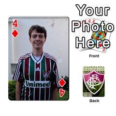 Baralho Familia By Andre Ramalho   Playing Cards 54 Designs   Yzrhx1c4wnx9   Www Artscow Com Front - Diamond4