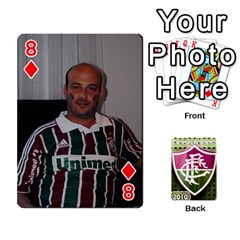 Baralho Familia By Andre Ramalho   Playing Cards 54 Designs   Yzrhx1c4wnx9   Www Artscow Com Front - Diamond8