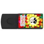 flower usb - USB Flash Drive Rectangular (2 GB)