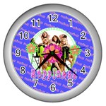 happiness clock - Wall Clock (Silver)
