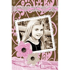 Pink Chocolate Lined Notebook By Danielle Christiansen   5 5  X 8 5  Notebook   Tjrg5canajb7   Www Artscow Com Front Cover