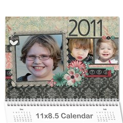 Calendar 2011 By Sarah Banholzer   Wall Calendar 11  X 8 5  (12 Months)   Jyivfqpebget   Www Artscow Com Cover