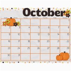 Calendar 2011 By Sarah Banholzer   Wall Calendar 11  X 8 5  (12 Months)   Jyivfqpebget   Www Artscow Com Oct 2011