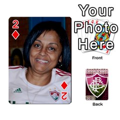 Baralho Familia 2 By Andre Ramalho   Playing Cards 54 Designs   A65xt1f1na62   Www Artscow Com Front - Diamond2