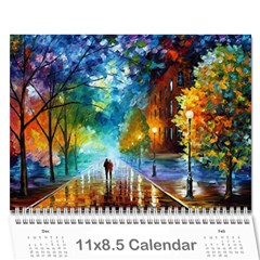 Calender By Shannel   Wall Calendar 11  X 8 5  (12 Months)   8ggo7bjxd6x0   Www Artscow Com Cover