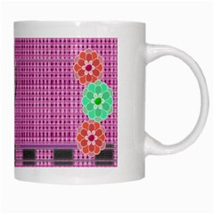 Flowers Cup By Daniela   White Mug   Sewrvy63iu34   Www Artscow Com Right