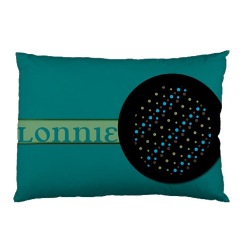 Pillow Blue Green Black By Brookieadkins Yahoo Com   Pillow Case   Ztzuazedhkzp   Www Artscow Com 26.62 x18.9 Pillow Case
