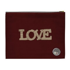 You ve Stolen My Heart Xl Cosmetic Bag 1 By Lisa Minor   Cosmetic Bag (xl)   Fjozlvtflnzt   Www Artscow Com Back