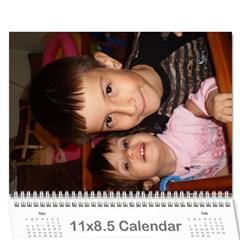 Radi I Beba By Emi   Wall Calendar 11  X 8 5  (12 Months)   Jcyo9qe7fn1u   Www Artscow Com Cover