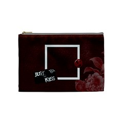 Love Medium Cosmetic Bag By Lisa Minor   Cosmetic Bag (medium)   Feu86aalt6e3   Www Artscow Com Front