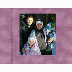 Price Family 2010 By Jana   Wall Calendar 11  X 8 5  (12 Months)   Fuc2nzpon3dh   Www Artscow Com Month