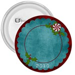 Christmas Jingle Button - 3  Button