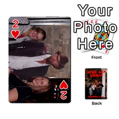 Vegas Mix Cards By Stephie Shell   Playing Cards 54 Designs   Fxymap1dusqw   Www Artscow Com Front - Heart2