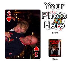 Vegas Mix Cards By Stephie Shell   Playing Cards 54 Designs   Fxymap1dusqw   Www Artscow Com Front - Heart3