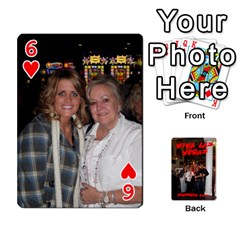 Vegas Mix Cards By Stephie Shell   Playing Cards 54 Designs   Fxymap1dusqw   Www Artscow Com Front - Heart6