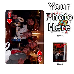 Vegas Mix Cards By Stephie Shell   Playing Cards 54 Designs   Fxymap1dusqw   Www Artscow Com Front - Heart8